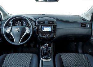 2016 Nissan Pulsar İç Tasarım