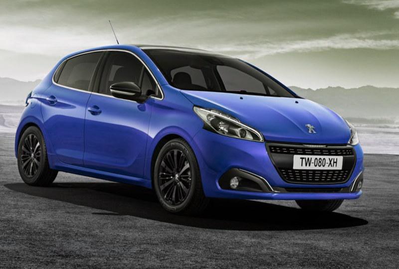 2016 Peugeot 208 Renk Seçenekleri