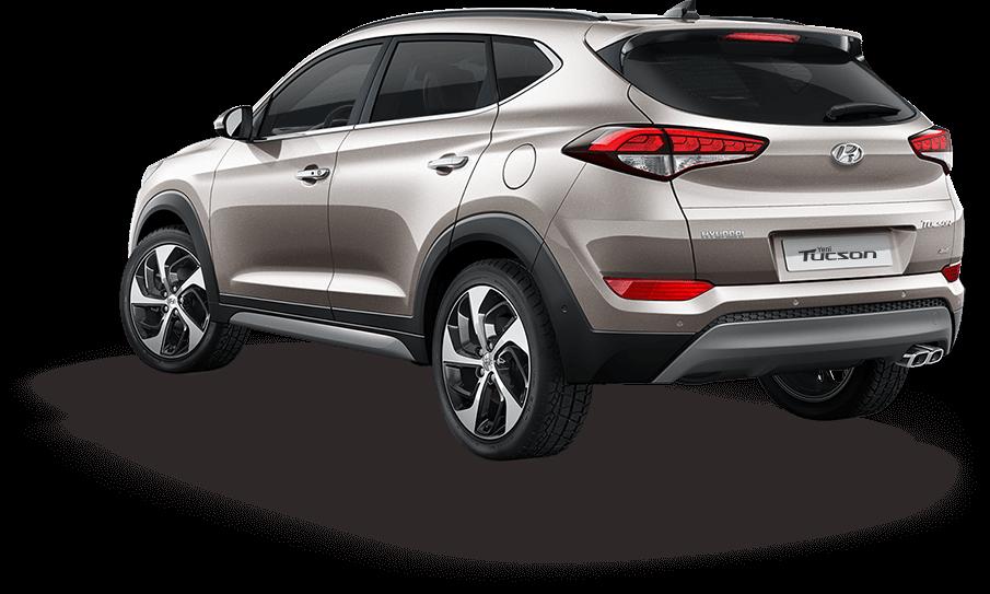 Hyundai Tucson Arka Görünüş