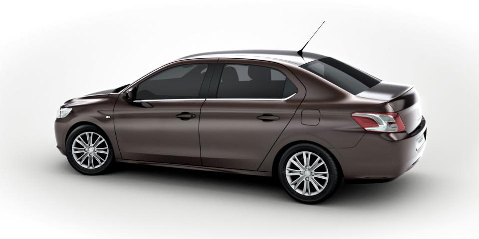Peugeot 301 Arka Görünüş