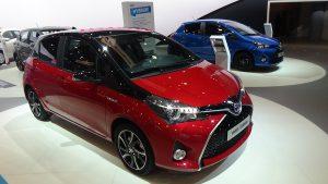Toyota Yaris Önden Görünüm